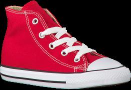 Converse Baskets CTAS HI KIDS en rouge