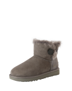 UGG, Dames Snowboots 'Mini Bailey Button II', grijs