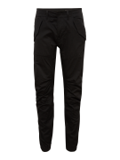 G-STAR RAW, Heren Broek 'Rovic dc tapered cuffed', zwart