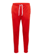 JACK & JONES, Heren Broek 'JJIVEGA JJRETRO WW FIERY RED', rood / wit