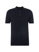 NEW LOOK, Heren Shirt 'RP 1 27.10 MW SS SLIM FIT TEXTURED POLO', navy