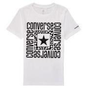 T-shirt Korte Mouw Converse SHORT SLEEVE LOGO GRAPHIC T-SHIRT