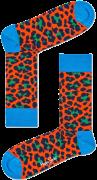 Zwarte Happy Socks Sokken Leopard