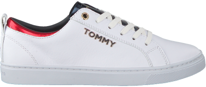 Witte Tommy Hilfiger Sneakers City Sneaker Metallic
