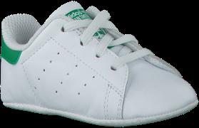 Adidas Chaussures bébé STAN SMITH CRIB en blanc