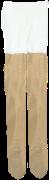 Le Big Chaussettes GLITTER TIGHT en or
