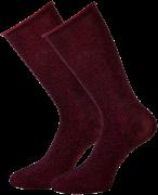 Marcmarcs Chaussettes GWEN 2-PACK LANG en rouge