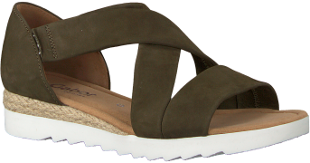 Gabor Sandales 711.1 en vert