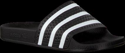 Adidas Tongs ADILETTE DAMES en noir