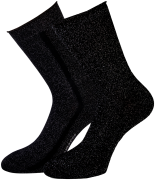 Marcmarcs Chaussettes ERICA COTTON 2-PACK en noir