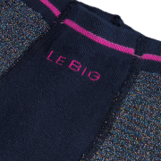 Le Big Chaussettes PENDA TIGHT en bleu