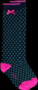 Le Big Chaussettes PENIA KNEEHIGH en bleu