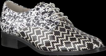 Pertini Chaussures à lacets 15900 en noir