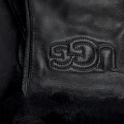 UGG Gants CLASSIC LOGO GLOVE en noir