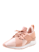 PUMA, Dames Sneakers laag 'Muse Satin EP Wn's', perzik / rosé