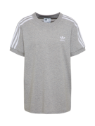 ADIDAS ORIGINALS, Dames Shirt '3 STRIPES', grijs