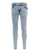 NEW LOOK, Heren Jeans 'BRIGHT BLUE RIP SKINNY', blauw denim