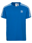 ADIDAS ORIGINALS, Heren Shirt '3-Stripes', blauw / wit