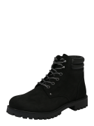 JACK & JONES, Heren Veterboots 'JFWStoke', zwart