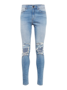 NEW LOOK, Heren Jeans 'RPASO 06.04.18 JACK BUSTED KNEE SUPER SKINNY', ...